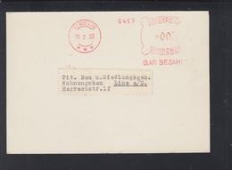 Österreich PK Gretsch & Co.   Stempel Bar Bezahlt 1933 - 1918-1945 1. Republik