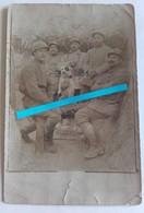 1915 1916 Champagne Soldats Russes Légion étrangère Mascotte Gymnastiorka Bottes Tranchées 14 18 Poilu  WW1 Carte Phot - War, Military
