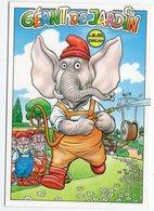 VEYRI BERNARD  LE GEANT DE JARDIN LES NAINS ET LEUR DIEU  ( Elephant )  -  1999 - Veyri, Bernard