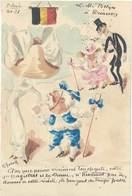 Cpa Signée Roberty, L.M. Belges à Trianon, Tirage Limité - Autres Illustrateurs