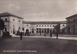 Cartolina SENIGALLIA - Piazza Ottorino Manni. 1950 - Senigallia