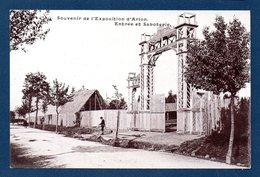 Arlon. Souvenir De L'Exposition D'Arlon 1904. Entrée Et Saboterie. Pub Chocolat De La Couronne Bruxelles - Arlon