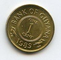 Guyana 1989 1 Cent. Fauna Birds - Guyana
