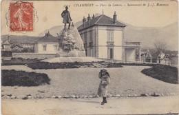 CHAMBERY Parc De Lemenc Monument De Jean Jacques Rousseau - Chambery