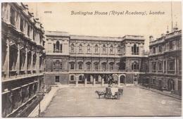 Burlington House (Royal Academy), London, 1908 Used Postcard [24013] - Houses Of Parliament