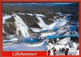 1 AK Norwegen * Skisprungschanzenanlage In Lillehammer - Erbaut Für Die Olympischen Winterspiele 1994 * - Norvège