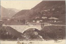 7142 CPA Montriond - Pont De La Glière Et Les Granges - Andere Gemeenten