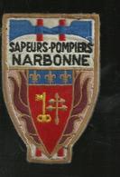 Narbonne Ecusson  Sapeurs Pompiers - Patches