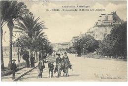 CPA - 06- Nice  - Promenade Et Hôtel Des Anglais - Markten, Pleinen