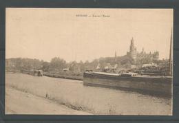 Oude Postkaart .  Antoing - Vue Sur L'Escaut. - Antoing