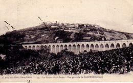 Le Viaduc De Saint Satur, Sancerre, Cher Obliteration Cosne Gare - Railway Post
