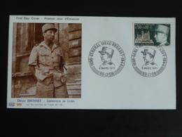 FDC General Diego Brosset Libération De Lyon 1971 - Guerre Mondiale (Seconde)