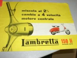 DEPLIANT LAMBRETTA 150LI - Motor Bikes