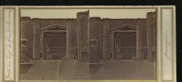 Carte Stereo Pompei Interieur Dans La Rue Mercure - Pompei