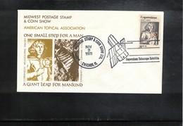 USA 1973 Space / Raumfahrt Copernicus Telescope Satellite Interesting Cover - USA