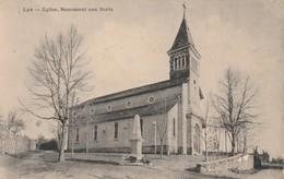 3-10-----lys-64-eglise Et Monument Aux Morts-----livraison Gratuite - Other Municipalities