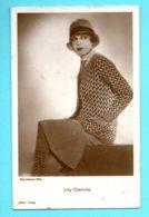 MOVIE STAR LILY DAMITA # 2053/1 VINTAGE PHOTO PC. PUBLISHER GERMANY 449 - Schauspieler