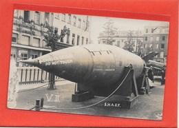 ANTWERPEN:  V,II-BOM-OORLOG 1914-18-MILITARIA-FOTOKAART - Weltkrieg 1914-18