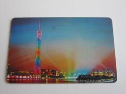 Guangzhou Hotel Key Card, TV Tower - Hotelkarten