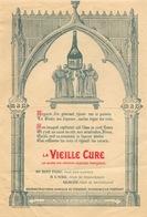 Affichette Publicitaire Liqueur De Moines - La Vieille Cure, Gloire Des Grandes Liqueurs, Nectar Des Rois - Affiches