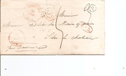 """Belgique ( Précurseur De 1833 De Soignies Vers Solre-le-Chateau -Voir Boite Rurale """"P"""") - 1830-1849 (Belgique Indépendante)"""