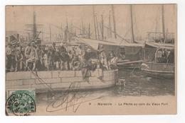**CPA - 13  -  Marseille -  La Pêche Au Coin Du Vieux Port - Oude Haven (Vieux Port), Saint Victor, De Panier