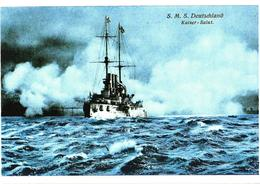 Germany War Ship S.M.S. Deutschland - Guerre