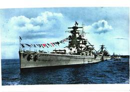 Germany War Ship, Pocket Battleship Admiral Scheer - Guerre