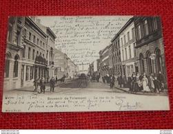 TIENEN -  TIRLEMONT  -   Stationstraat   -  La Rue De La Station     -   1907 - Tienen