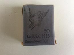 Ancien Paquet De Cigarettes GAULOISES - Années 1920 - Dessin Du Casque Par Maurice Giot - Non-ouvert - Other