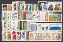 BUND Xx 1980-82   Vari Con  9 Serie Complete    -    Postfrisch     -   VEDI FOTO ! - Unused Stamps