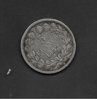 FRANCE 5 FRANCS ARGENT 1832 LOUIS PHILLIPPE I - France