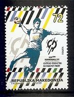 MACEDONIA 2019,SPORT,HANDBALL,MNH - Handbal