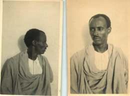 090320A - PHOTO ETHNIQUE 2 Photos DJIBOUTI Type Somali SOMALIS SOMALIE AFRIQUE - Afrique