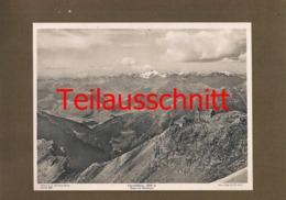 275 Payerhütte Sektion Prag Ortler Lichtdruck 1908 !! - Documents Historiques