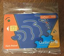 CANADA QUEBECTEL FORT-PRÉVEL PHONECARD NEUVE CARD 10$ PUBLIQUE QUEBEC CARTE TÉLÉPHONIQUE LAPUCE - Canada