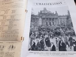 ILL 33/BERLIN REICHSTAG CASQUES ACIER / HITLER /CHINE MANDCHOURIE /D ANNUNZIO /CHORALE  CANTORIA /RUE LES VIGNES - Livres, BD, Revues
