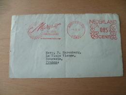 DEVANT DE LETTRE  EMA  FLEUR - Machine Stamps (ATM)