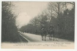 61 - Chasse à Courre En Andaines  -  Le Départ Des Chasseurs - France