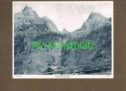 291-2 Kerschbaumeralp Lienz Kerschbaumeralm Lichtdruck 1908 !! - Historische Documenten