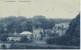 8 YVES-GOMEZEE : Ruines Du Château - RARE CPA - Walcourt