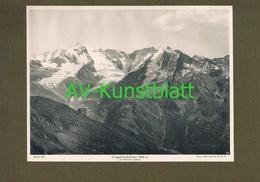 294 Neugersdorfer Hütte Rifugio Vetta D'Italia Warnsdorf Lichtdruck 1908 !! - Ohne Zuordnung
