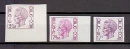 1753/55 Koning Boudewijn Elstrom ONGETAND POSTFRIS** 1975 Cat: 90 Euro - Belgium