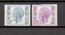 1747/48 Koning Boudewijn Elstrom ONGETAND POSTFRIS** 1975 Cat: 55 Euro - Belgium