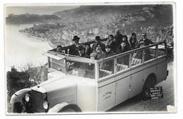 06-NICE-CARTE PHOTO-Autobus Excursion A. COLOMB... Animé Vue Sur Monaco Et Monte-Carlo... - Carnival
