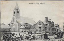 80  Candas  Eglise Et Mairie - France