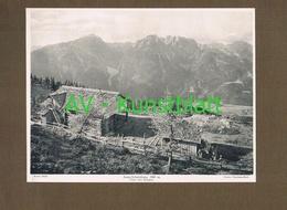 321-2 Anna Schutzhaus Hütte Österr. Touristen-Klub Lichtdruck 1908 !! - Ohne Zuordnung