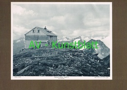 329-2 Hannoverschutzhaus Sektion Hannover Mallnitz Lichtdruck 1908 !! - Ohne Zuordnung