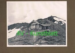 330-2 Hannoverhütte Sektion Hannover Mallnitz Lichtdruck 1908 !! - Ohne Zuordnung