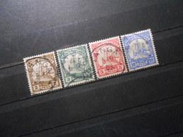 D.R.Mi 11-14  2/3/5/10P - Deutsche Kolonien ( Deutsch-Ostafrika ) 1901 - Mi 13,40 € - Colonia: Africa Oriental